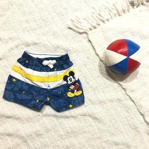 Disney Baby   Mickey Swim Trunks